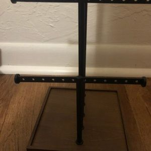 Five tier jewelry stand
